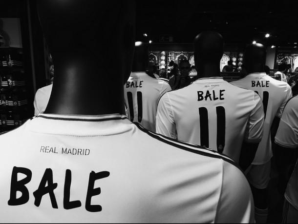Le maillot de gareth Bale (image sous licence CC de Danny Last.
