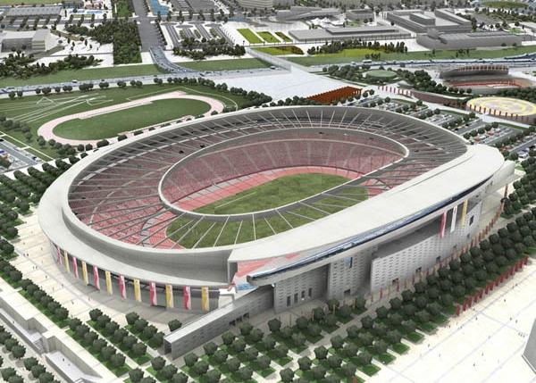 Voici à quoi devrait ressembler le stade de la Peineta, future antre de l'Atletico Madrid. (photo Club Atletico de Madrid)